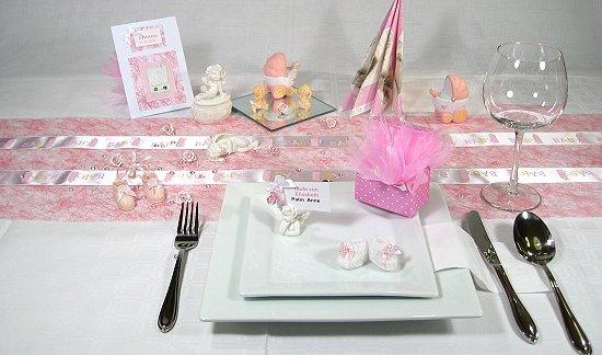 Taufgeschenke tischdekoration tischdeko taufe for Tischdekoration ideen