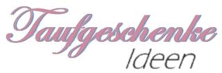 Taufgeschenke Ideen-Logo