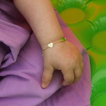 Taufkettchen Gold 333 585 Mit Schutzengel Im Herz Inkl Gravur Als Taufgeschenk